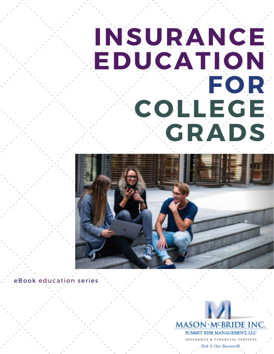 Photo of ebook cover - insurnace education for recent college grads